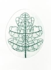 Hubschwerlin Charlotte, Oeuf-feuille, gravure pointe-sèche, 12x16cm, 2015.jpg