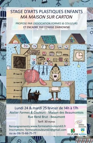Affiche stage enfants ma maison sur carton.jpg
